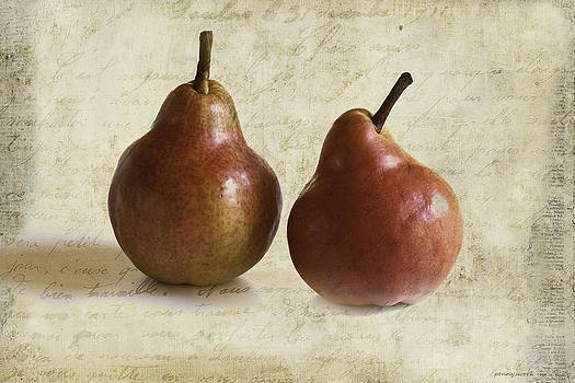 Two Pears by Penny Roberts
