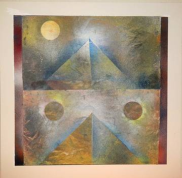 Two Pyramids Three Moons by James Howard