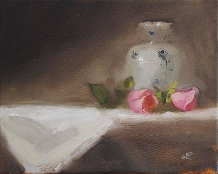 Two Roses by Lori Farist