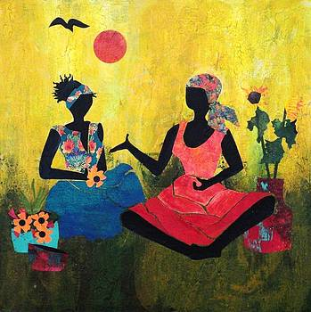 Two Sisters The Advice II by Charleen Martin