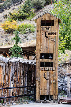 Two-story Outhouse by Sue Smith