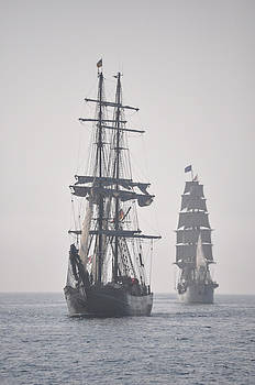 Larry Peterson - Two Tall Ships In Door County