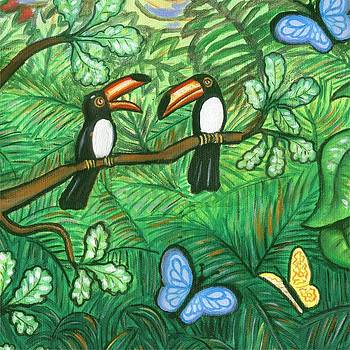 Linda Mears - Two Toucans