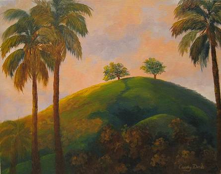Two Trees in Ventura by Candace Doub