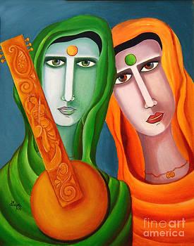 Two Women In Search of Music by Divya Kakkar