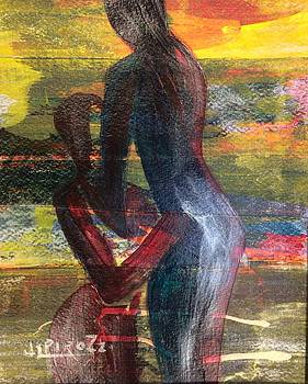 Two Women by Janet  Pirozzi