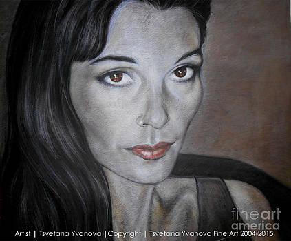 Ty Portrait by Tsvetana Yvanova