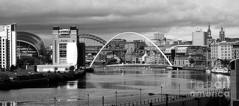 Malcolm Suttle - Tyne Bridges and Buildings