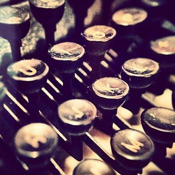 #typewriter #keyboard by Katalina Fuentes