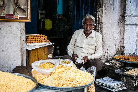 Udaipur Sweet Seller by James McRae