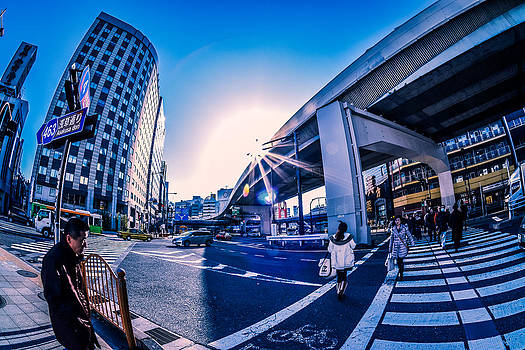 Ueno Crossing by Ryan Routt