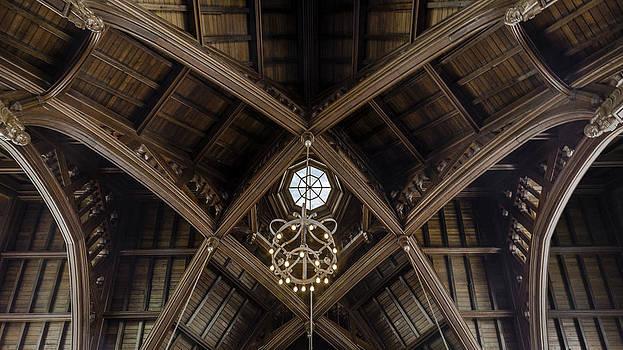 Lynn Palmer - UF University Auditorium Vaulted Wooden Arches