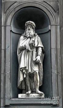 Gregory Dyer - Uffizi Gallery - Leonardo da Vinci
