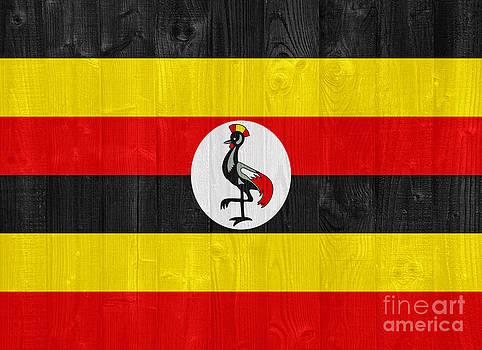 Uganda flag by Luis Alvarenga