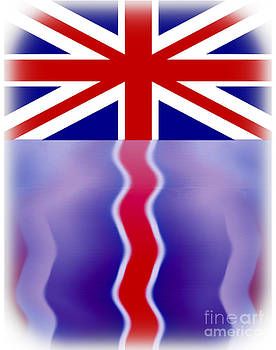 Algirdas Lukas - UK Flag reflection