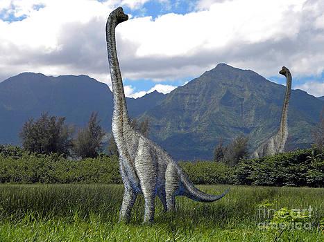 Frank Wilson - Ultrasaurus In Meadow