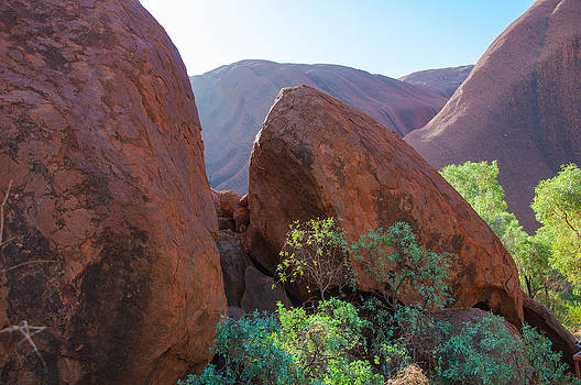 Uluru Tumble by Ross Carroll