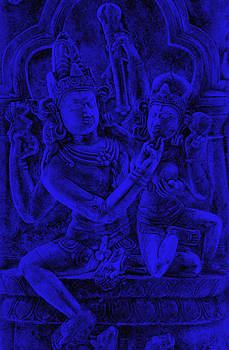 Bliss Of Art - Uma Maheshvar in Alingan Mudra