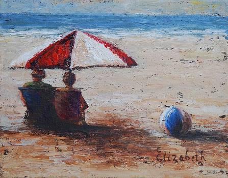 Umbrella Beach by Beth Maddox