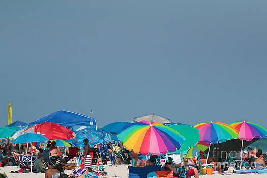 Umbrella Beach by Light Rapture