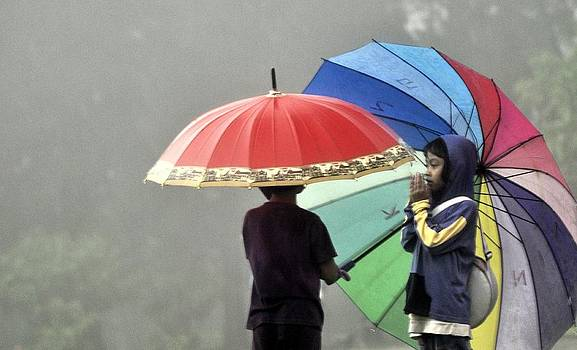 Umbrella for rent by Achmad Bachtiar