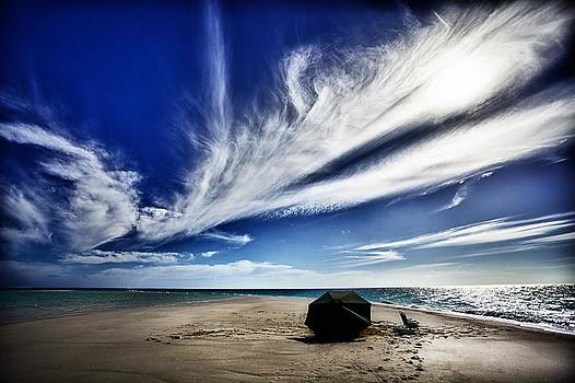 Umbrella in Paradise by JM Photography