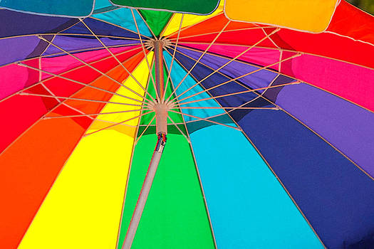 Art Block Collections - Umbrella of Many Colors