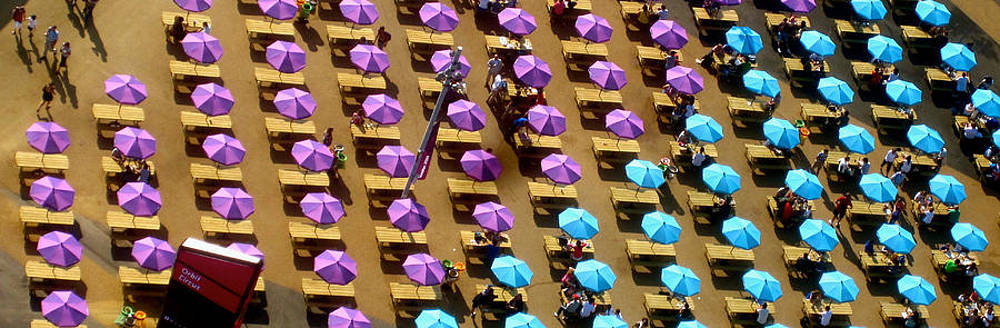 Umbrellas Across by Jon Berry OsoPorto