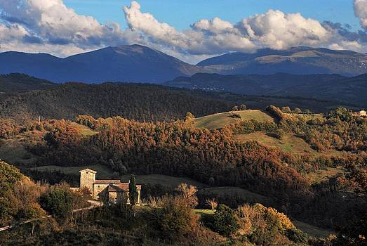 Umbrian Fall by Alessandro Pinto