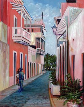 Un Domingo en San Juan by Alfredo Ocasio