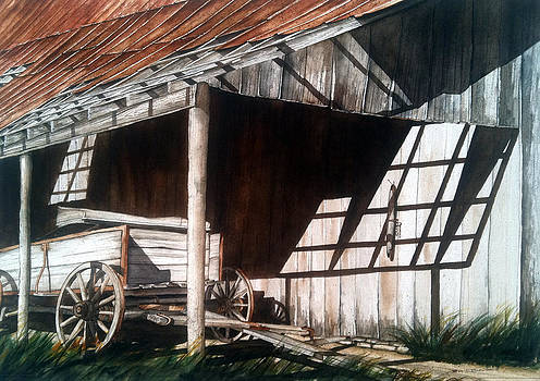 Uncle Seifs Wagon  by Don F  Bradford