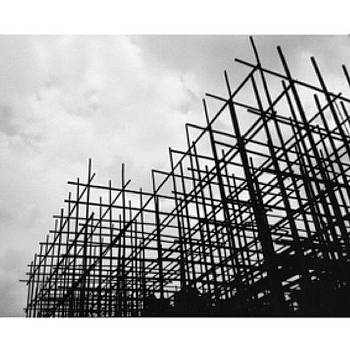 Under Construction #bw #photo #taiwan by Pierre H