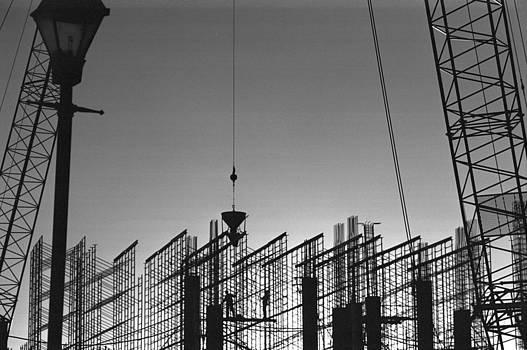 Harold E McCray - Under Construction-The Marriott Hotel--Harbor East