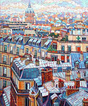 Paris Skies by Elizabeth Elkin