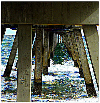 Under The Boardwalk  by Dianne  Lacourciere