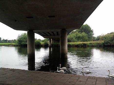 Under the bridge by Geoff Cooper