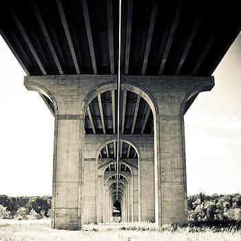 Under the Bridge in Black and White by Jeff Picoult