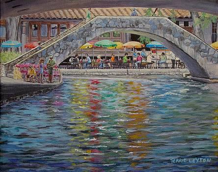 Under The Bridge - Riverwalk by Terrie Leyton