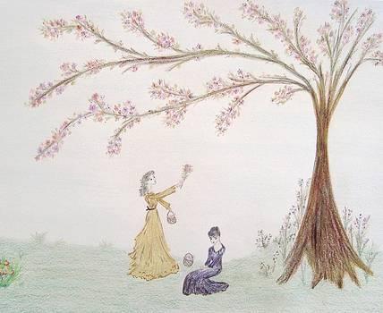 Under the Dogwood Tree by Christine Corretti