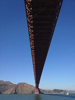 Under The Golden Gate Bridge by Denise Beaupre