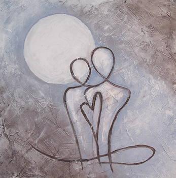 Under the moon by Nina Sunde
