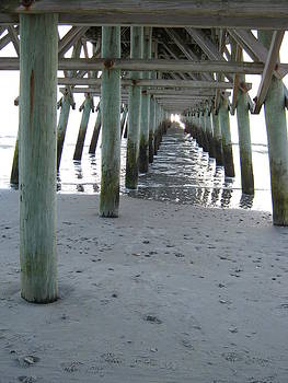 Under The Pier by Sarah Manspile