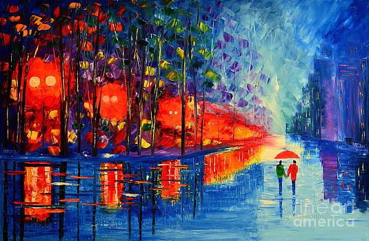 Under the rain by Mariana Stauffer