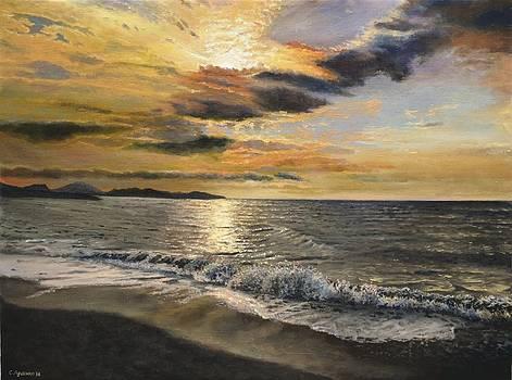 Under the rustle of the waves by Sergey Lutsenko