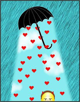 Under the Umbrella of Love by Sandy Scharmer