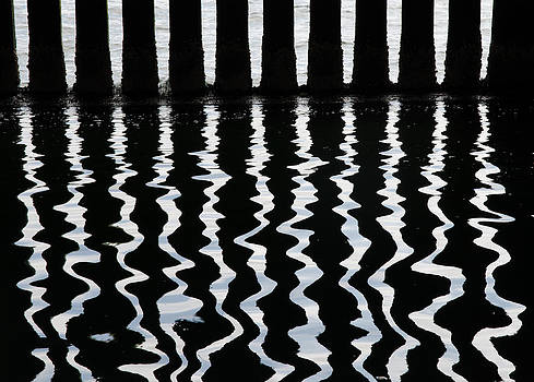 Under The Wharf 3 by Rob Huntley