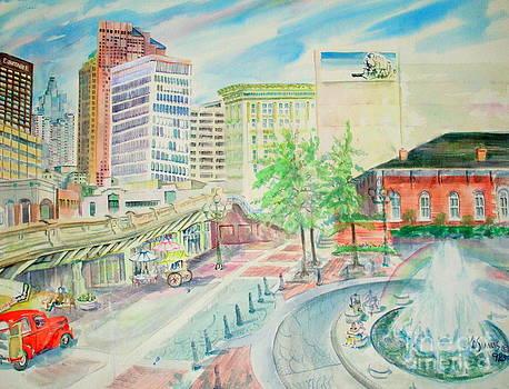 Underground Atlanta by Keith OBrien Simms