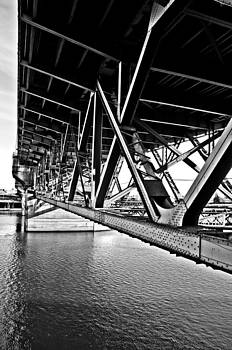 Underside of the Burnside Bridge by Gary Silverstein