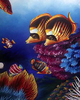 Underwater-1 by Naushad  Waheed