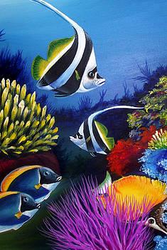 Underwater-3 by Naushad  Waheed